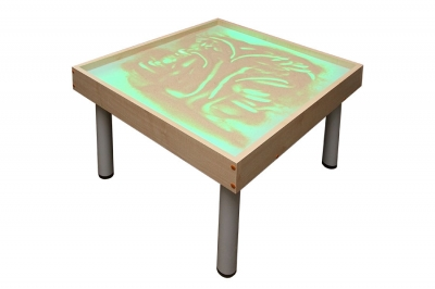 Световой модуль с песком для рисования «Радуга», на ножках