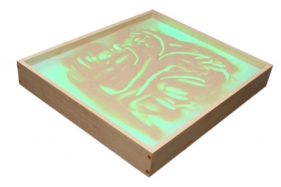 Световой модуль с песком для рисования «Радуга»
