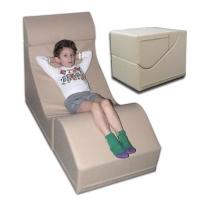 Детское складное кресло «Трансформер» 57х60х85 см.